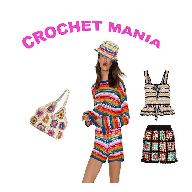 tendenza crochet estate 2021 tendenza uncinetto estate 2021 come abbinare un top uncinetto cappello uncinetto idee outfit crochet