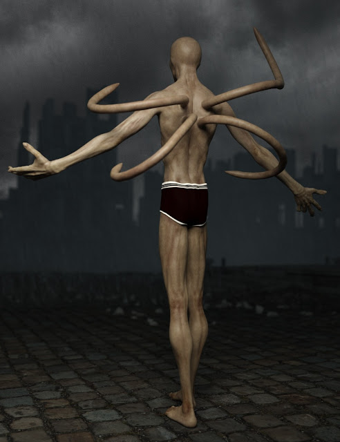 The Slim Man for Genesis 3 Male
