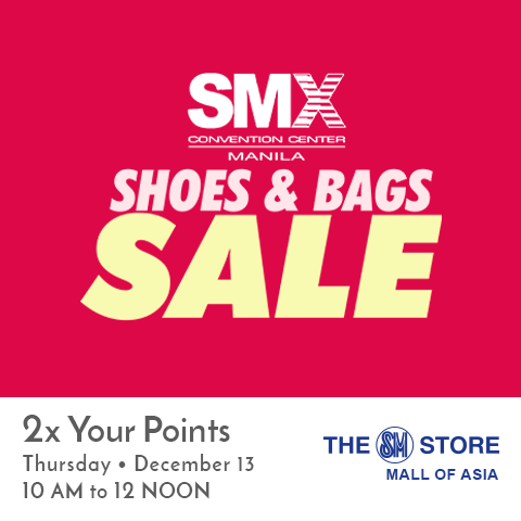 956437c081e Manila Shopper  SMX Shoes   Bags SALE  Dec 2018