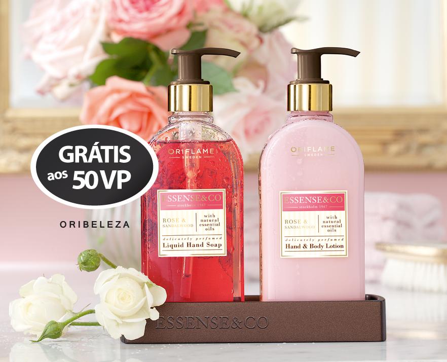 Conjunto Essence & Co. Rosa e Sândalo da Oriflame