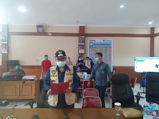 Walikota Jambi Salurkan APD Ke Puskesmas Dan Rumah Sakit Kota Jambi.