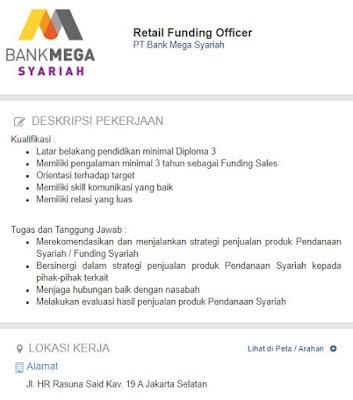 Bulan Ini  - Lowongan Kerja Bank Mega Surabaya Terbaru 2020
