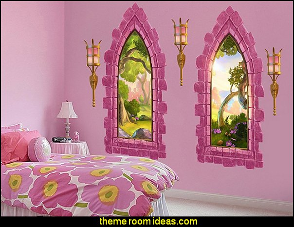 Princess Style Bedrooms Castle Theme Beds Pumpkin Bed Fairy Bedroom Ideas