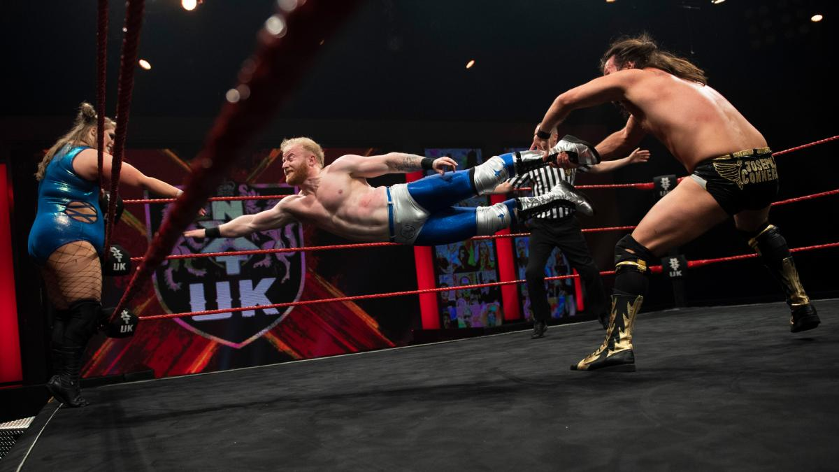 Jack Starz, Piper Niven, Jinny, and Joseph Conners on WWE NXT UK