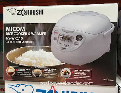 Zojirushi Micom Rice Cooker and Warmer NS-WRC10 - For perfect rice every time