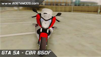 CBR 650F para GTA San Andreas