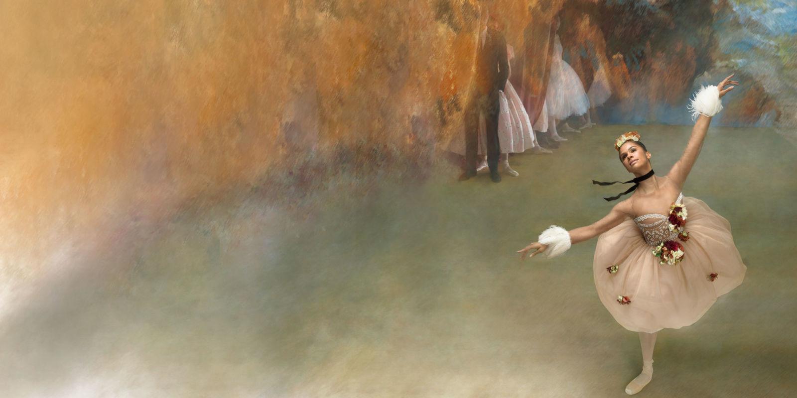 Misty Copeland Degas