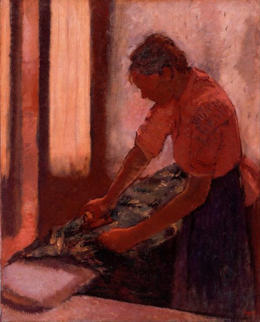 Эдгар Дега - Гладильщица (1892-1895)