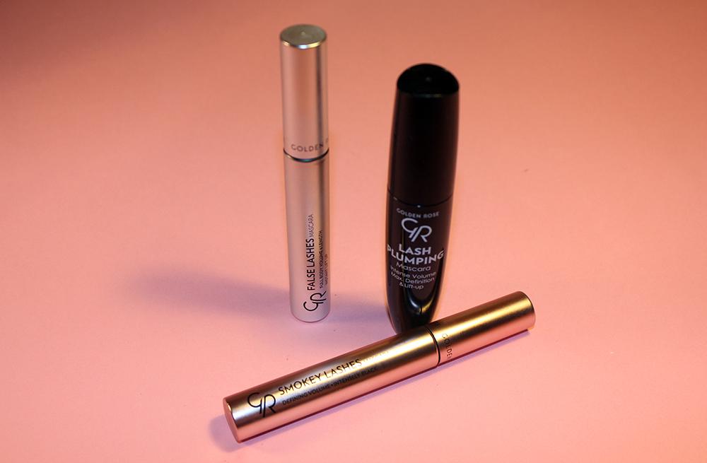 9e23ddc649d Isprobala sam tri nova proizvoda a to su: Golden Rose Lash Plumping mascara,  Golden Rose Smokey Lashes mascara i Golden Rose False Lashes mascara.