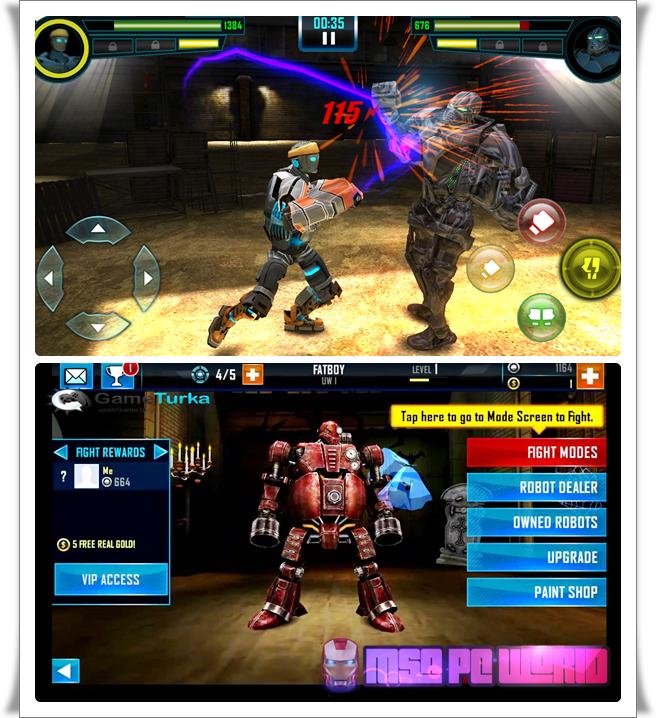 Real Steel World Robot Boxing V32.32.894 Mod Apk + OBB