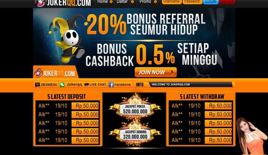 JokerQQ Adalah Salah Satu Situs Poker Online Terpercaya