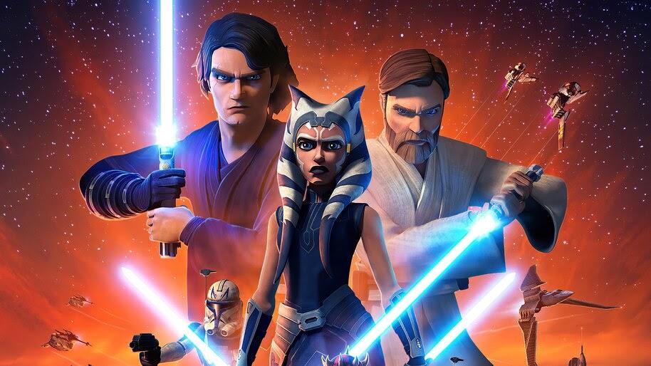 Star Wars The Clone Wars, Poster, Season 7, Characters, 4K, #7.998