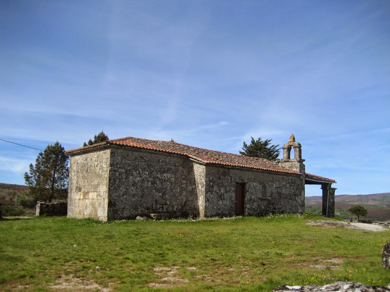 Ermita de Triguás en Parada de Sil