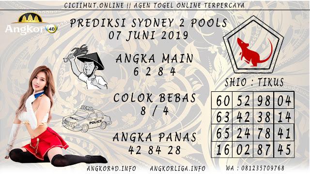 PREDIKSI SYDNEY 2 POOLS 07 JUNI 2019