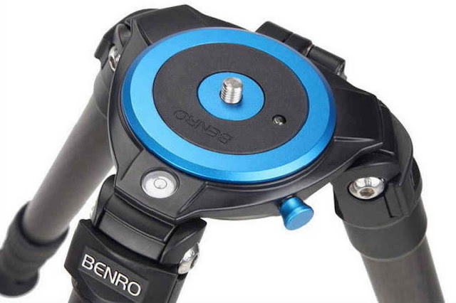 Benro Combination tripod redesigned top spider overview