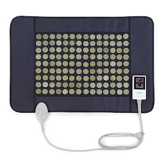 8.Best Infrared: UTK Far Infrared Natural Jade Heating Pad