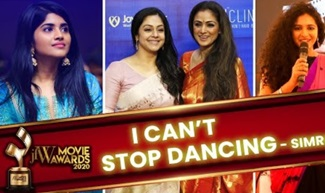 I CAN'T STOP DANCING – SIMRAN | JFW MOVIE AWARDS 2020 | RED CARPET