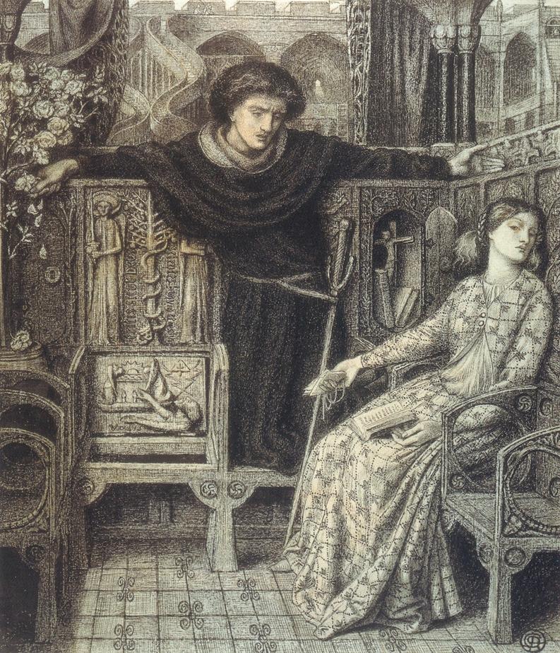 Dante Gabriel Rossetti 1828-1882 - British Pre-Raphaelite painter