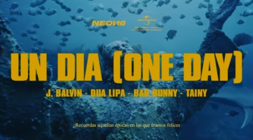 UN DIA (ONE DAY) Song lyrics - J Balvin, Dua Lipa, Bad Bunny