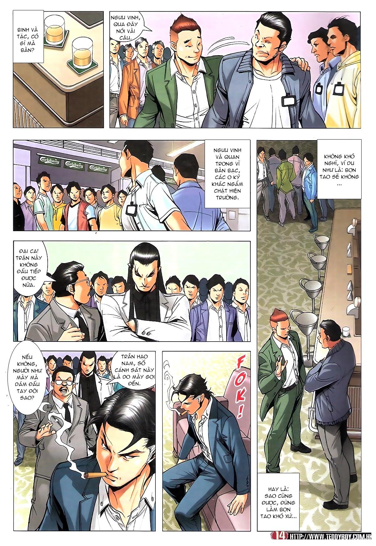 Người Trong Giang Hồ chapter 1809: bát phương phong vũ tụ hoa môn trang 11