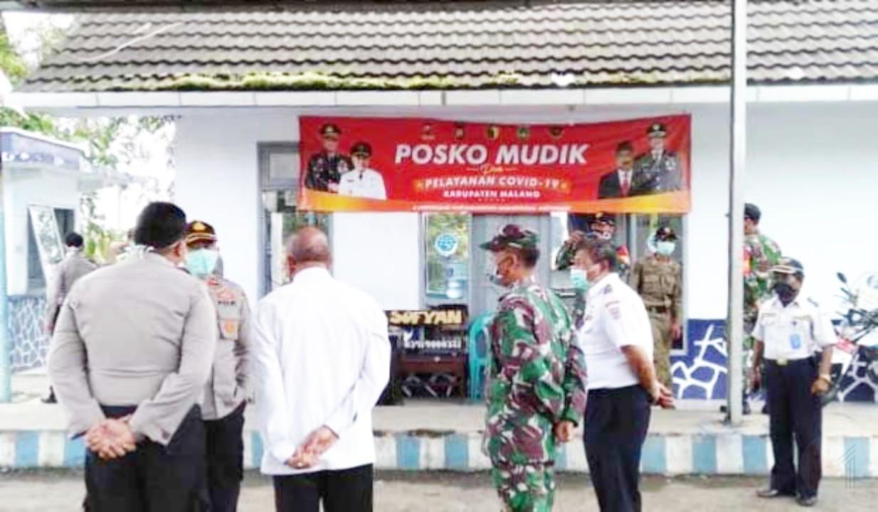 Polres Malang Dirikan Posko Mudik Covid-19