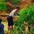 Babinsa Bersama Bhabinkamtibmas Bantu Warga Bersihkan Aliran Batang Piaman Pasca Banjir