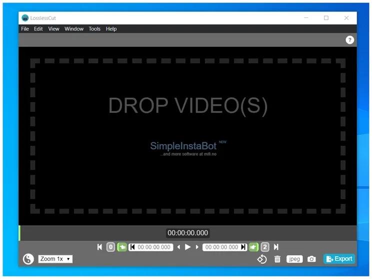LosslessCut : Η καλύτερη δωρεάν εφαρμογή για την περικοπή τμημάτων βίντεο