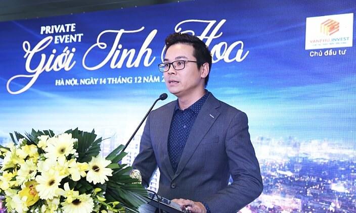 Ông Trần Minh Thắng - Giám đốc kinh doanh Văn Phú Invest