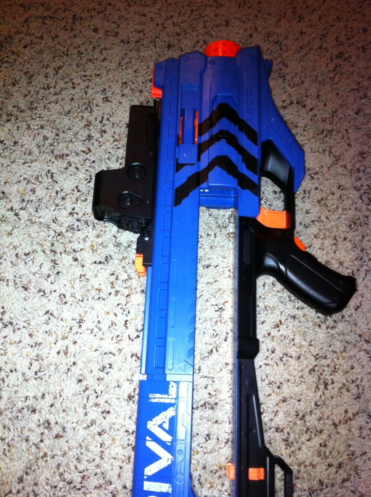 The Dart Zone Nerf Rival Zeus R Amp D Begins Stage 1 Upgrades