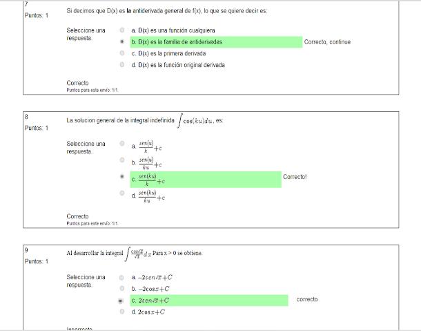Si decimos que D(x) es la derivada general de f(x), lo que se quiere decir es:
