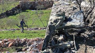 مشاهد جديدة تظهر قصف الجيش التركي مواقع للنظام السوري (فيديو)