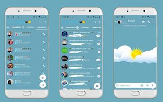 Sunny Theme For YOWhatsApp & Fouad WhatsApp By Leidiane