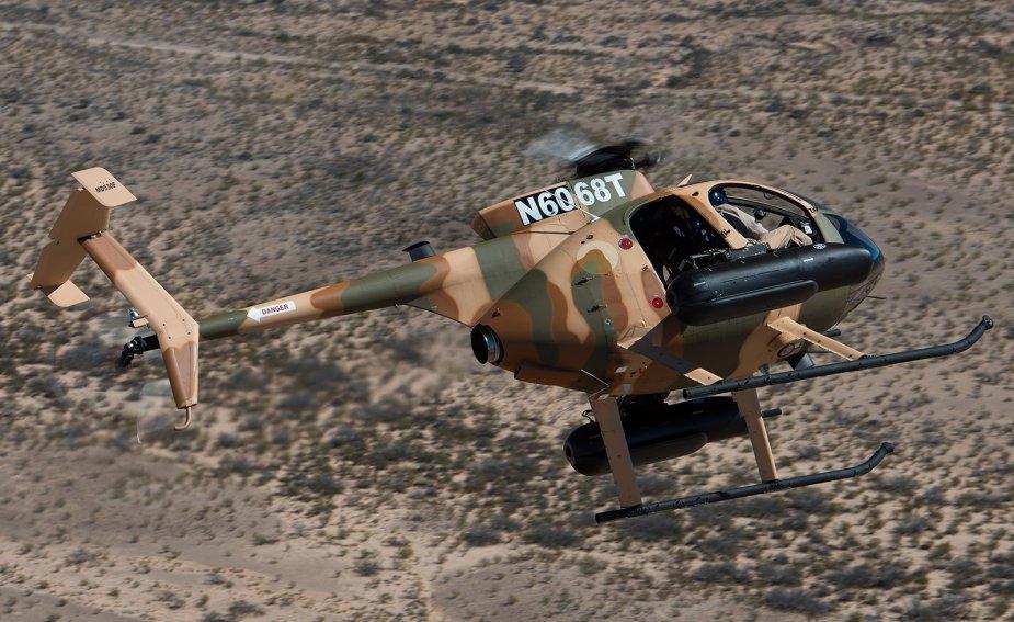 Кенія отримала гелікоптери MD 530F Cayuse Warrior