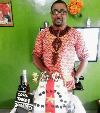 HBD!! Nollywood actor Tony Umez celebrates 50th birthday (See Photo)