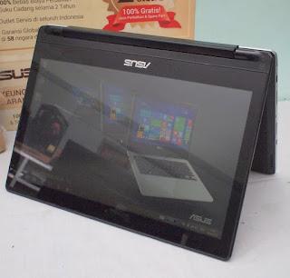 Laptop Asus Transformer Book Flip TP300LA ( bekas )