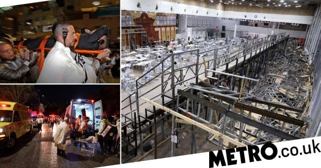 Dua Jamaah Tewas Tertimpa Tribun Sinagoga Saat Rayakan Hari Raya Yahudi, Ratusan Lainnya Luka-luka