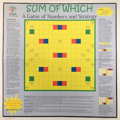 Photo of the Sum of Which game board