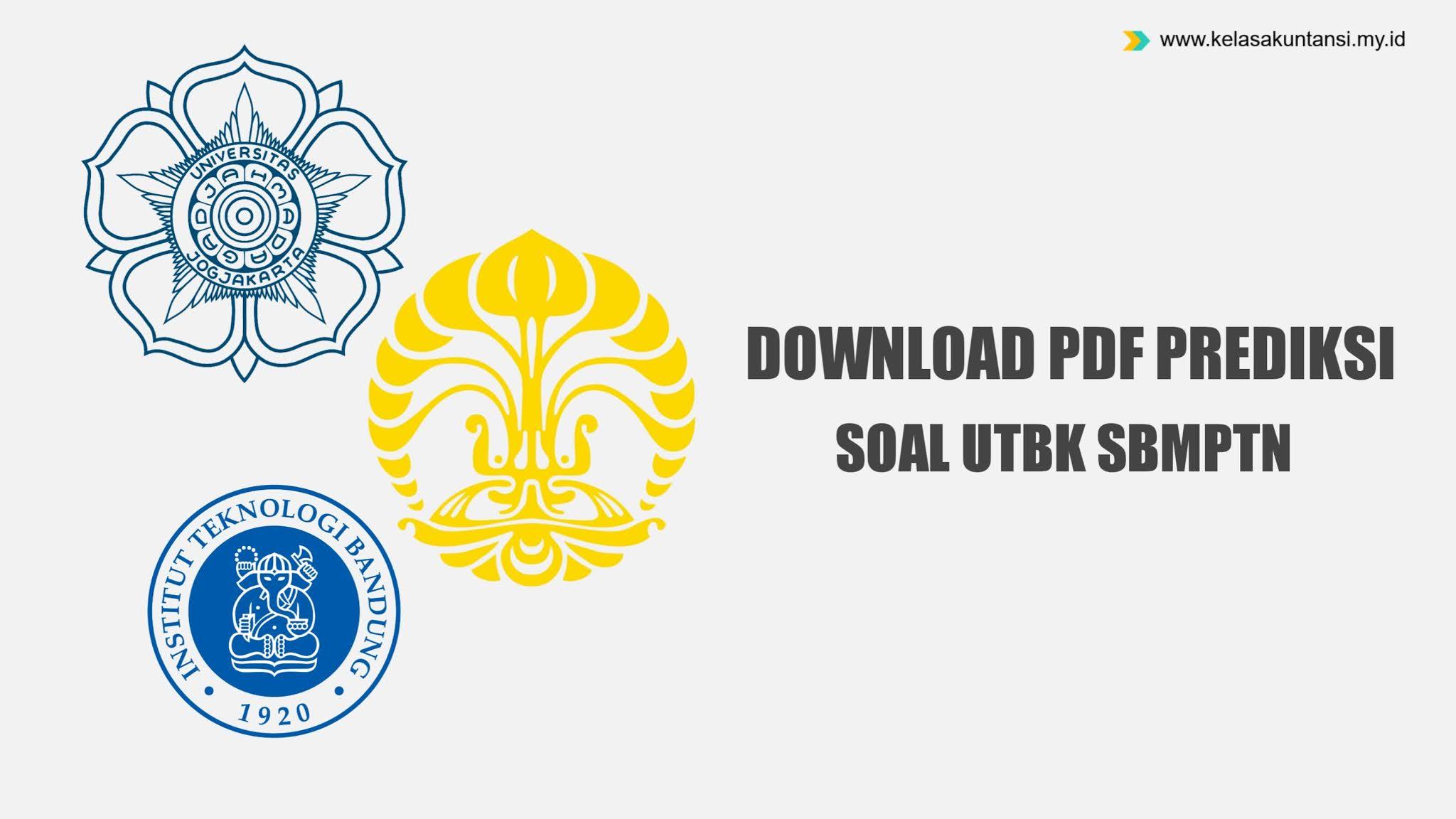 Download Kumpulan PDF Prediksi Soal SBMPTN 2021