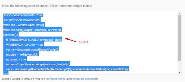 Cara Memasang Komentar Blog dengan Fiktur Rating / Bintang