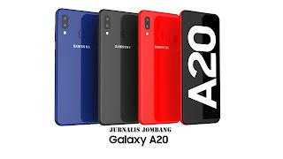 samsung galaxy a20 terbaru