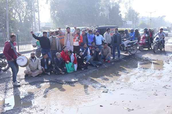 protest-against-mcf-on-pyali-hardware-chowk-road-news