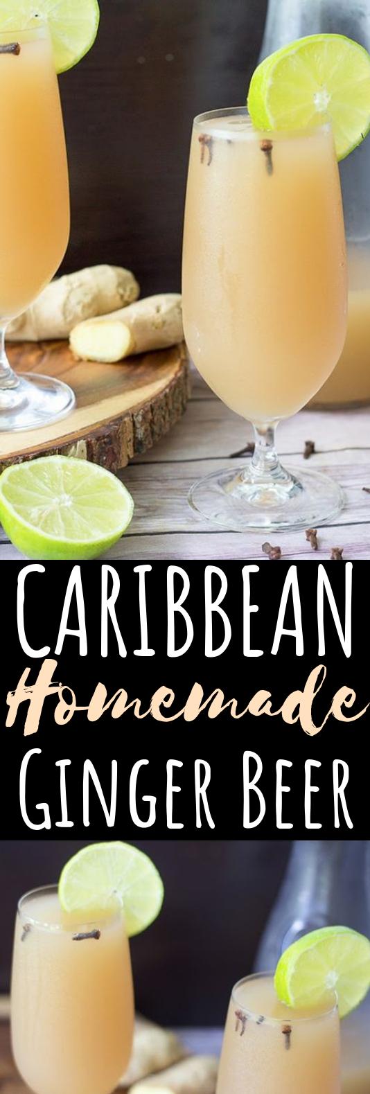 Homemade Ginger Beer #drinks #cocktails