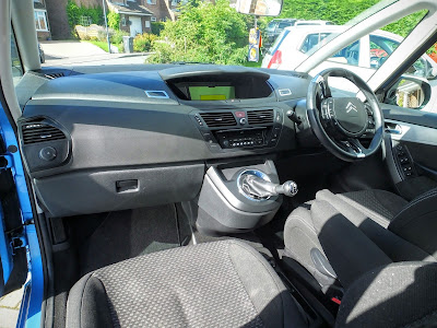 Inside the C4 Picasso