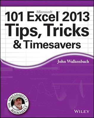 [Free Ebook]101 Excel 2013-2019 Tips, Tricks and Timesavers by John Walkenbach