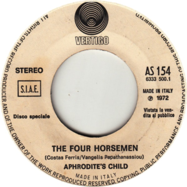 Aphrodite's Child. The Four Horsemen