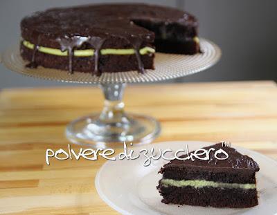 ricetta sponge cake torta al cioccolato pasticceria bakery polvere di zucchero