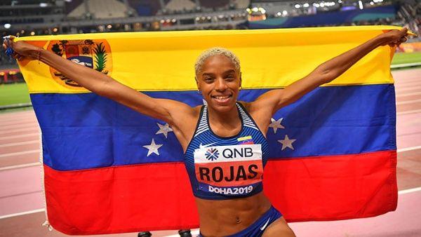 ATLETISMO: Venezolana Yulimar Rojas Solo le falta conquistar el oro en los próximos Juegos de Tokio 2020.