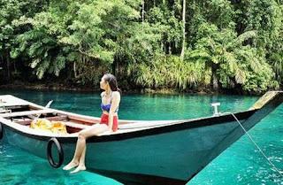 Danau labuan, wisata terendam di pulau kalimantan