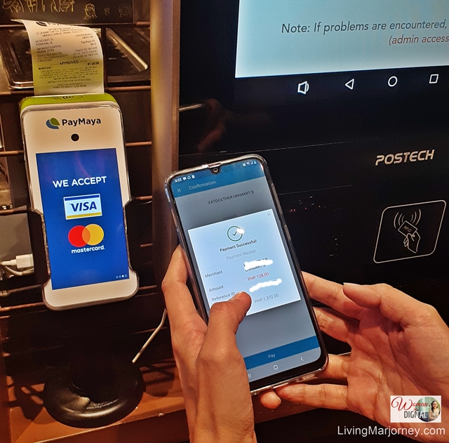 Cashless Transaction with PayMaya