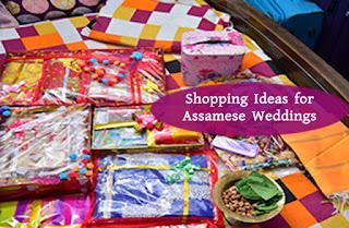 ASSAMESE WEDDING SHOPPING IDEAS - ONLINE SAREE PACKING FOR JURON AND MAN DHORA
